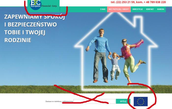 Uwaga na pożyczki od European Financial Corp sp. z o. o. (efc24.pl) – wymagana przedpłata