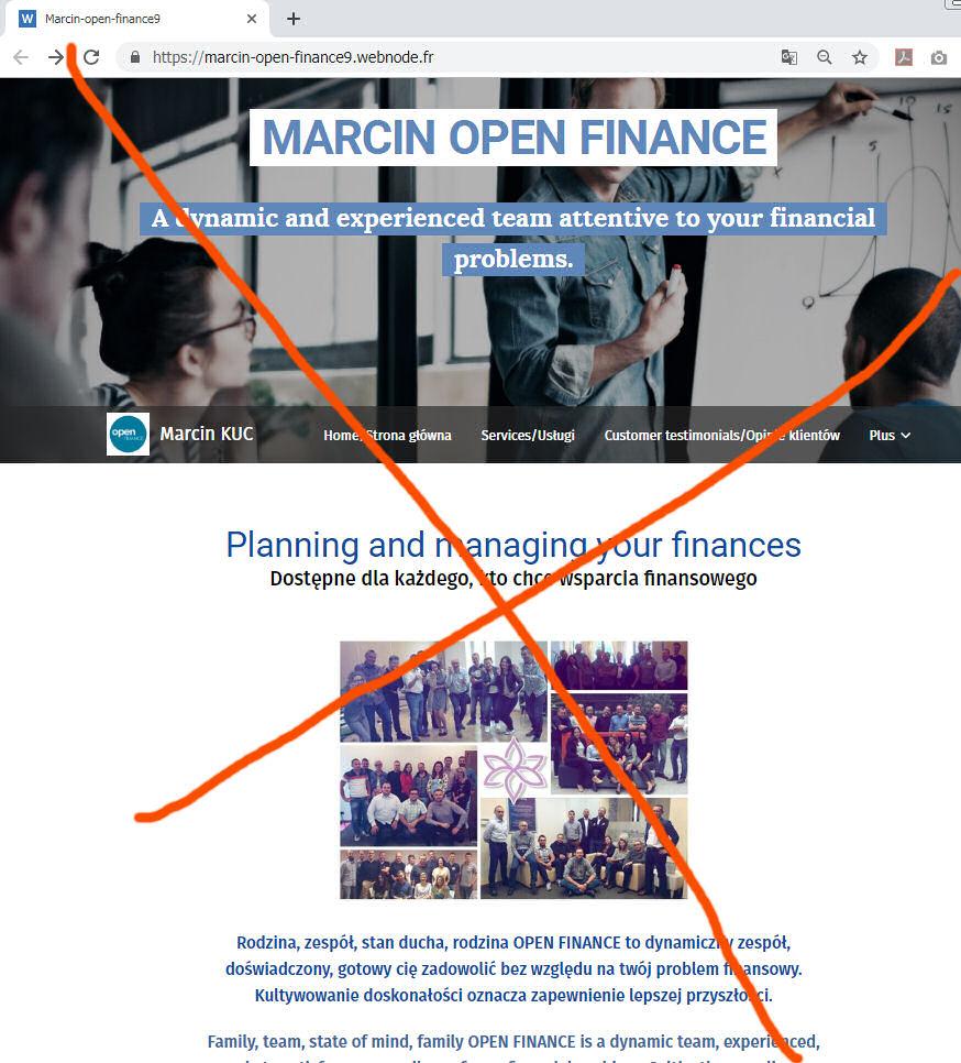 UWAGA! Marcin KUC – finansowanie online – Open Finance
